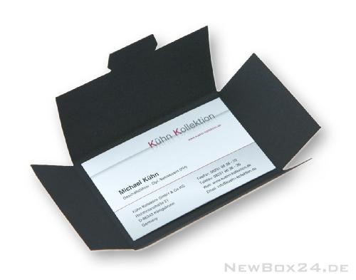 Visitenkarten Verpackung Newbox24 De